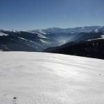 Luchon, au fond de la vallée vue du Hourmigué