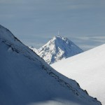 Le Pic du Midi entre le Pouy Louby et le Lion