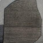 La Pierre de Rosette à donné son nom à la mission