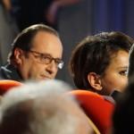 François Hallande et Najat Vallaud Belkacem